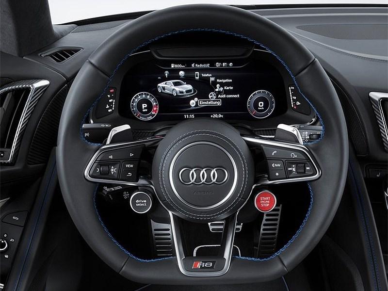 Audi R8 2016 руль