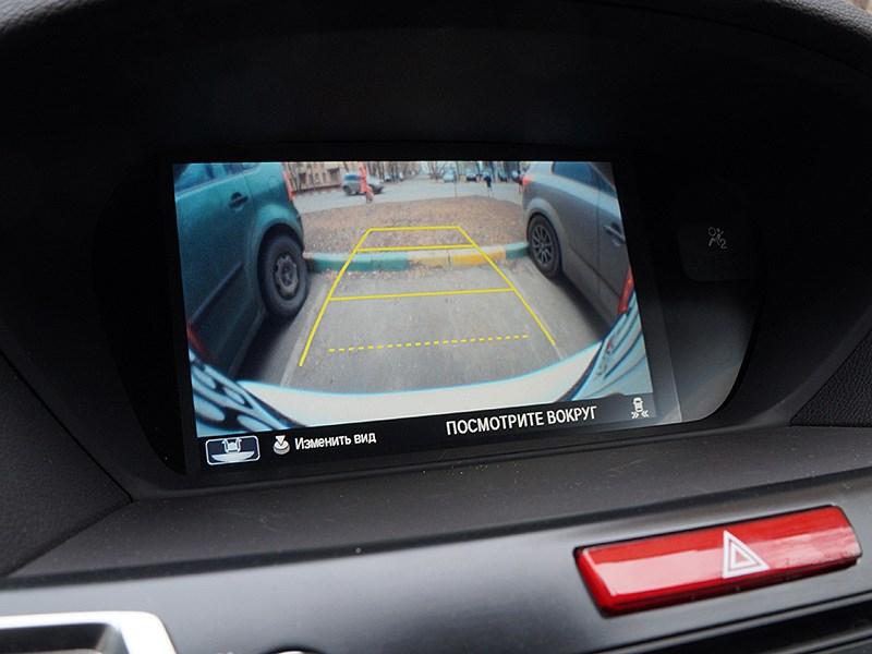 Acura TLX 2015 верхний экран