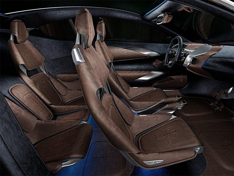 Aston Martin DBX Concept 2015 салон