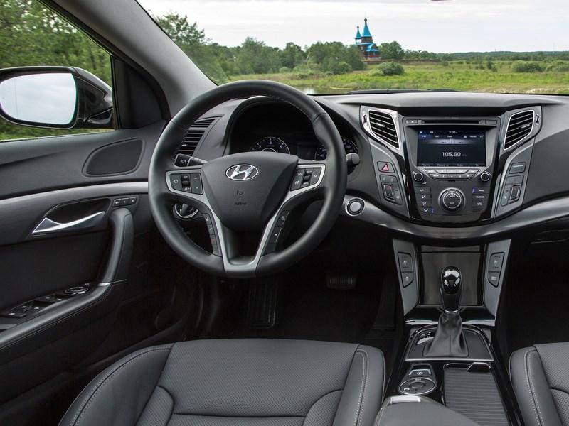 Hyundai i40 2015 водительское место