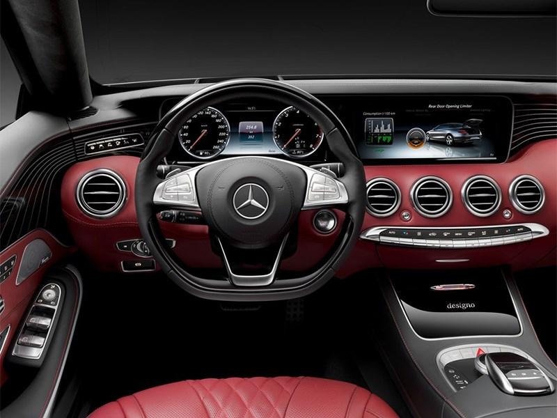 Mercedes-Benz S-Class Cabrtiolet 2016 водительское место
