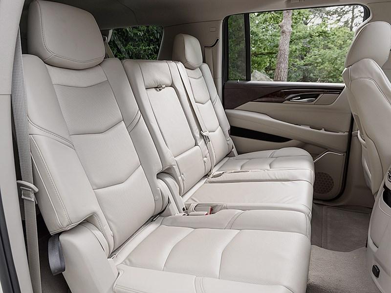 Cadillac Escalade 2015 задний диван