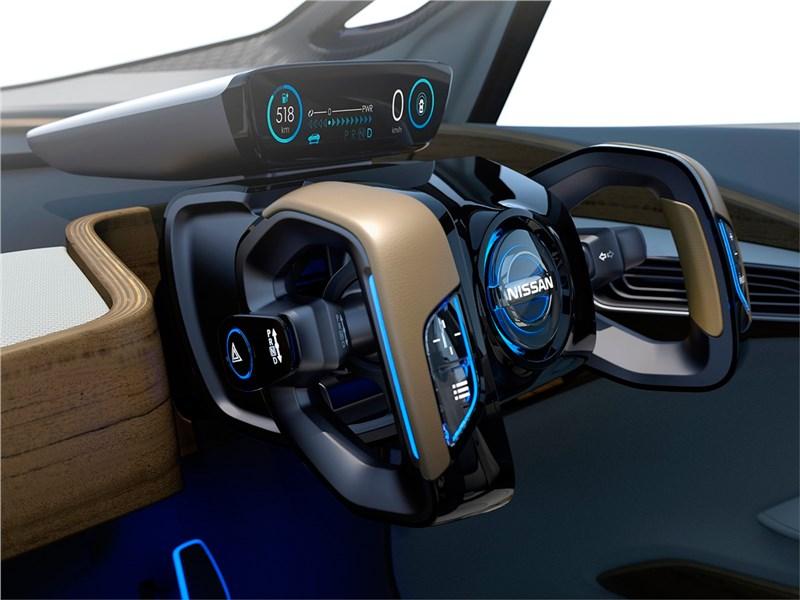 Nissan IDS concept 2015 салон 2