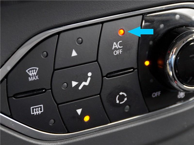 Renault Sandero Stepway 2015 климат-контроль