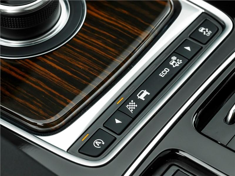 Jaguar F-Pace 2016 выбор режимов