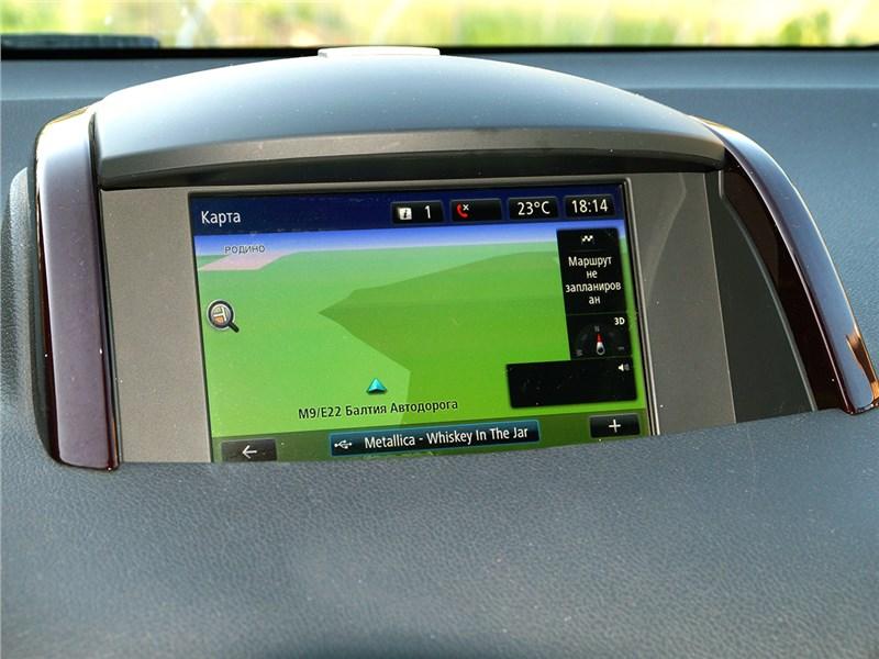 Renault Koleos 2014 монитор