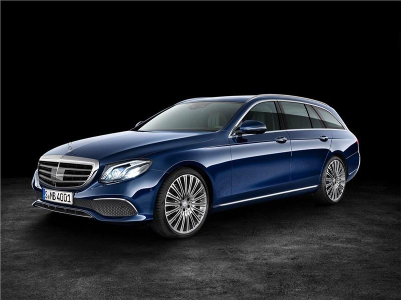 Новый Mercedes-Benz E-Class - Mercedes-Benz E-Class Estate 2017 И универсал тоже