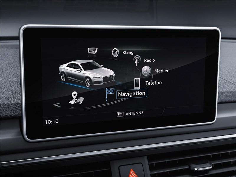 Audi A5 Coupe 2017 монитор