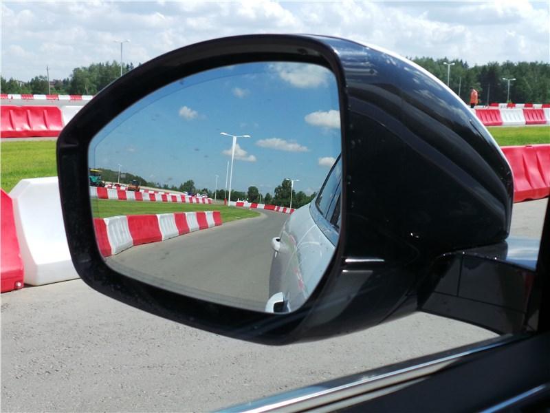 Jaguar F-Pace 2016 боковое зеркало