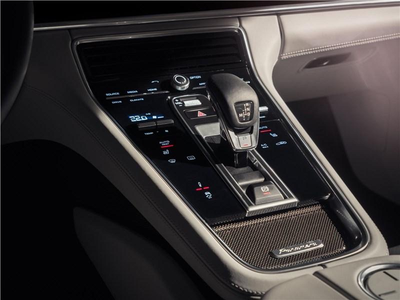 Porsche Panamera 2017 управление трансмиссией