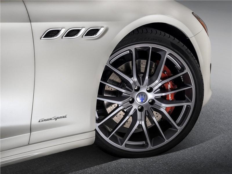 Maserati Quattroporte Gran Sport 2017 переднее колесо