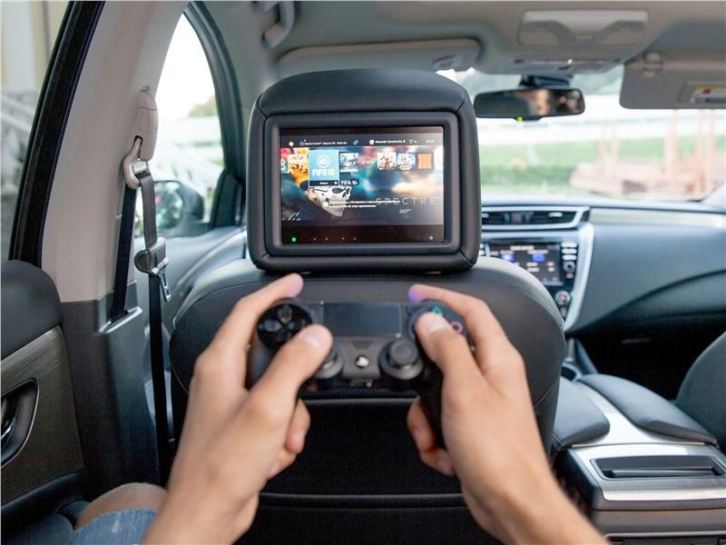 Nissan Murano 2015 мультимедиасистема