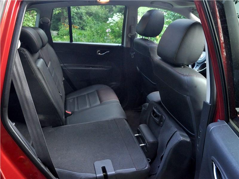Renault Koleos 2014 задний диван