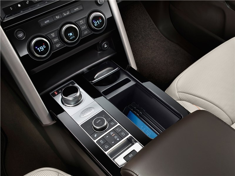 Land Rover Discovery 2017 центральный тунель