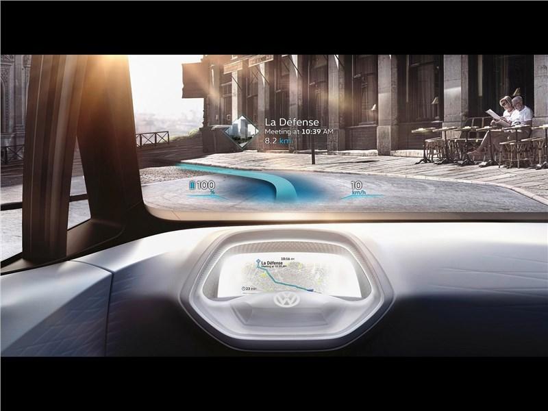 Volkswagen I.D. concept 2016 лобовое стекло