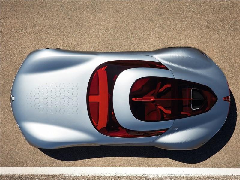 Renault Trezor Concept 2016 вид сверху
