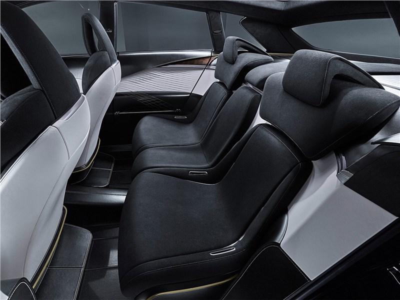 Infiniti QX Sport Inspiration Concept 2016 задний диван
