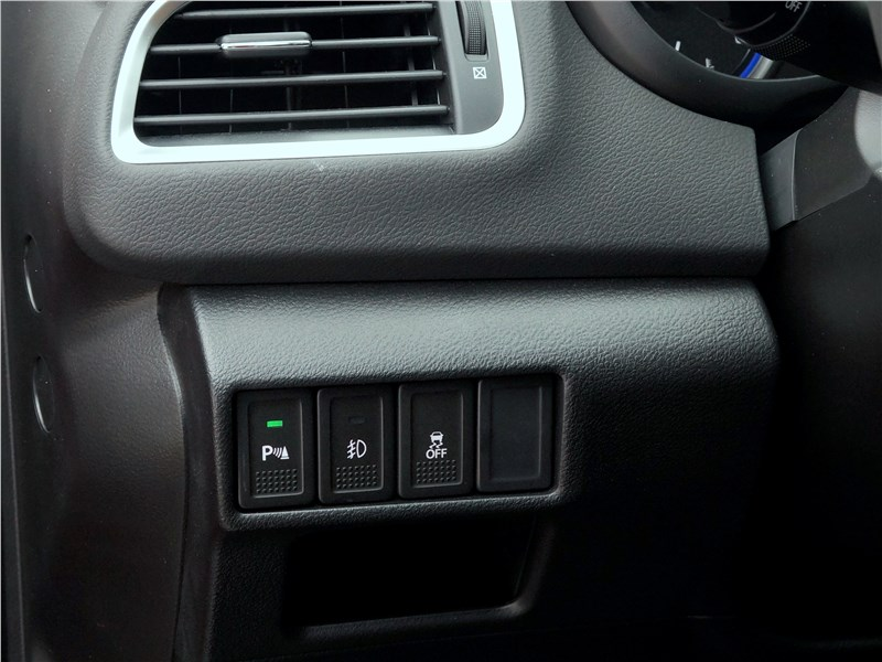 Suzuki SX4 2016 кнопки управления