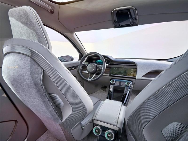 Jaguar I-Pace Concept 2016 салон