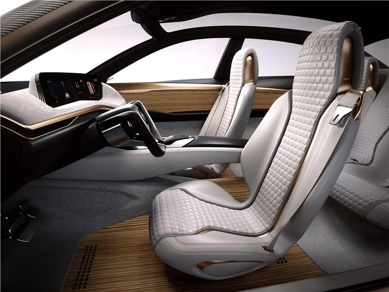 Nissan Vmotion 2.0 Concept 2017 передние кресла