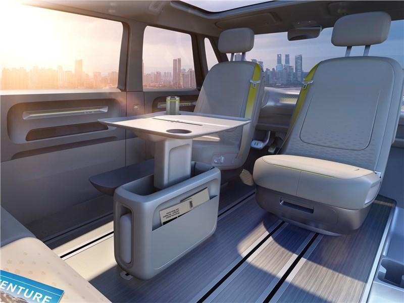 Volkswagen ID Buzz Concept 2017 салон