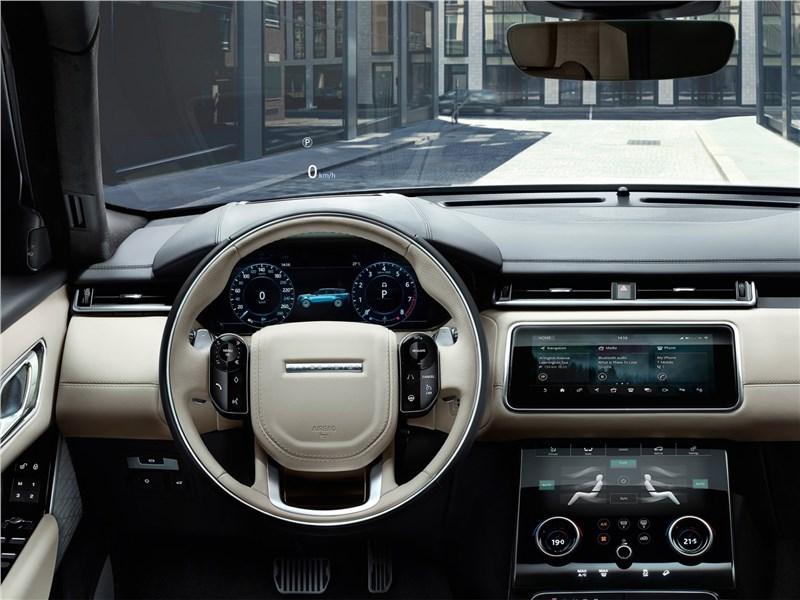 Land Rover Range Rover Velar 2018 водительское место