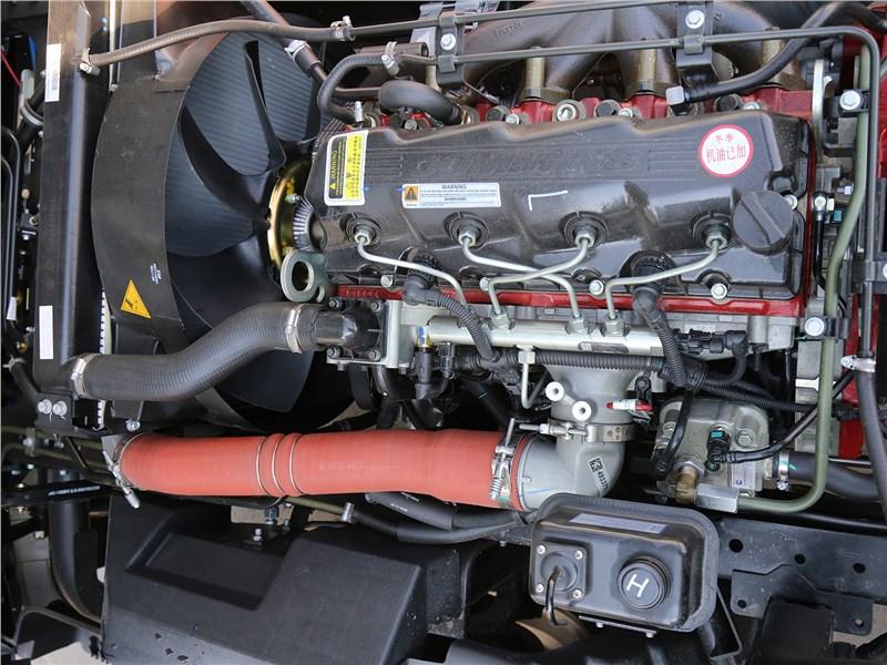 JAC N-120 2016 двигатель