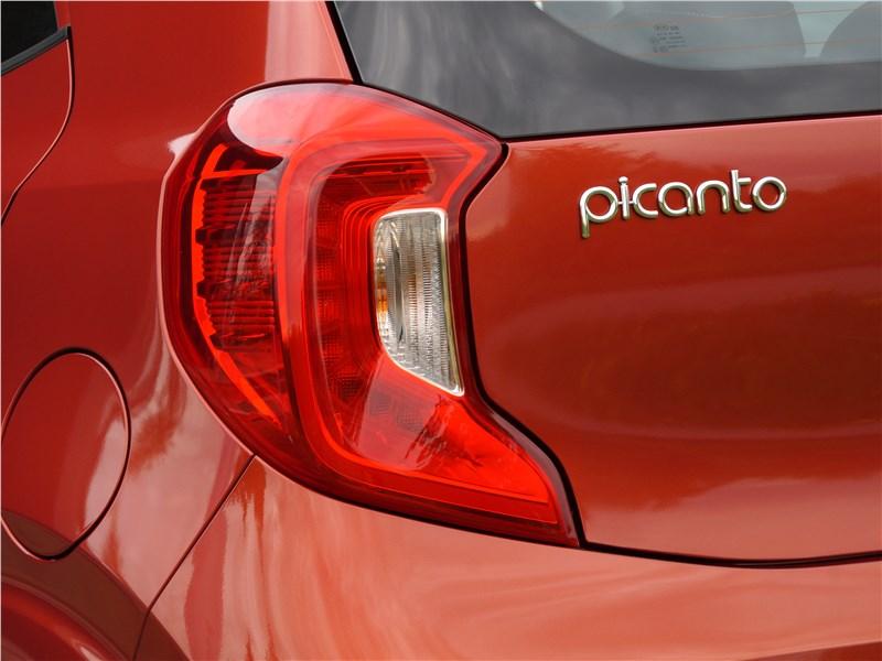 Kia Picanto 2017 задний фонарь