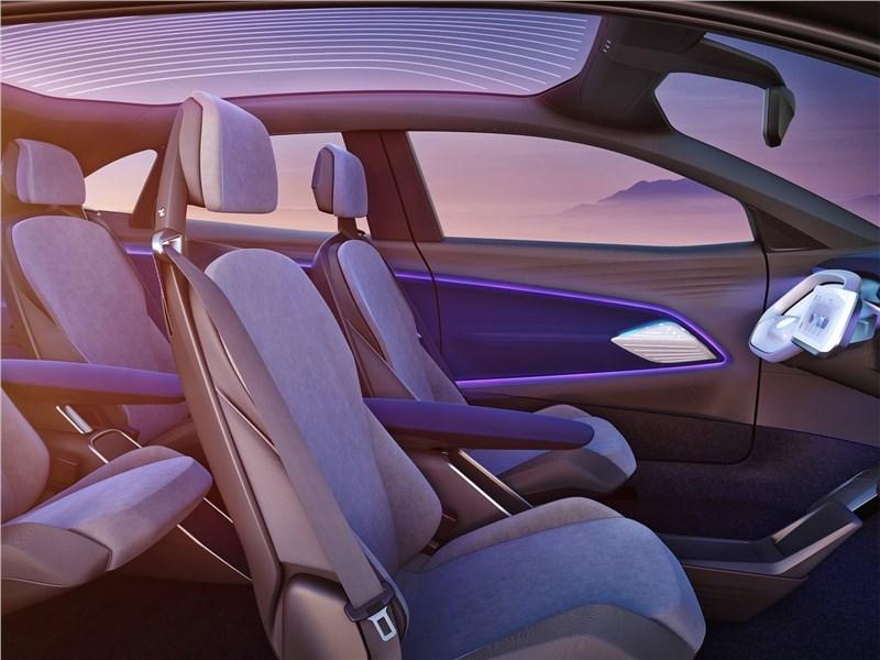 Volkswagen ID Crozz Concept 2017 кресла