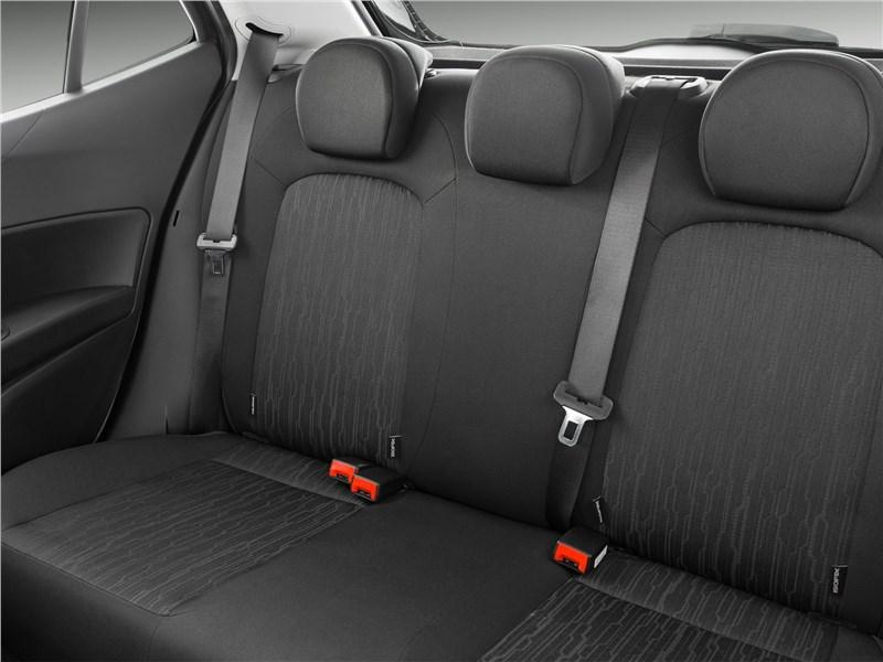 Fiat Argo 2018 задний диван