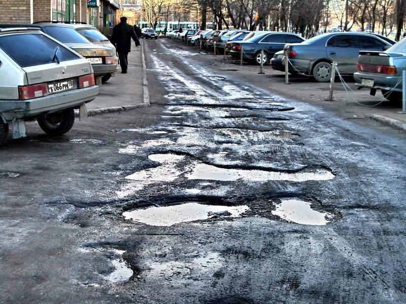 Федеральные дороги не соответствуют требованиям безопасности