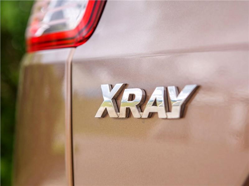 Lada XRay 2015 логотип