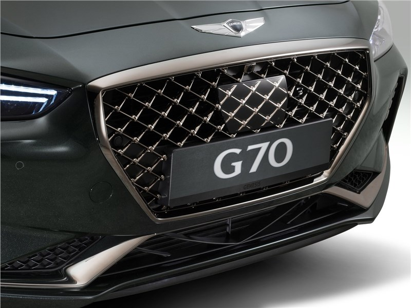 Genesis G70 2018 решетка радиатора