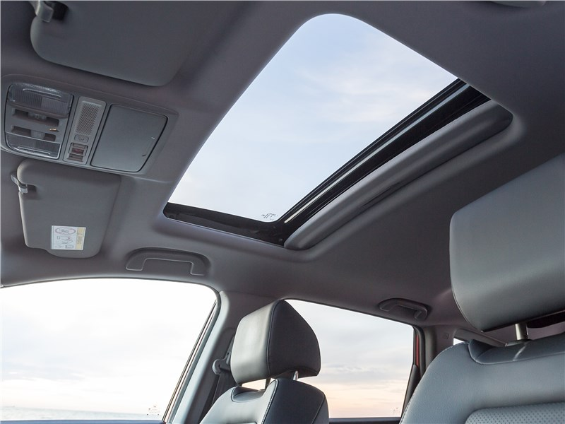 Honda CR-V 2017 панорамная крыша