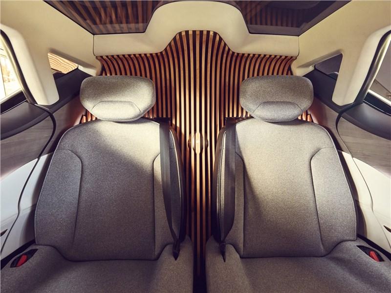 Renault Symbioz Concept 2017 задние кресла
