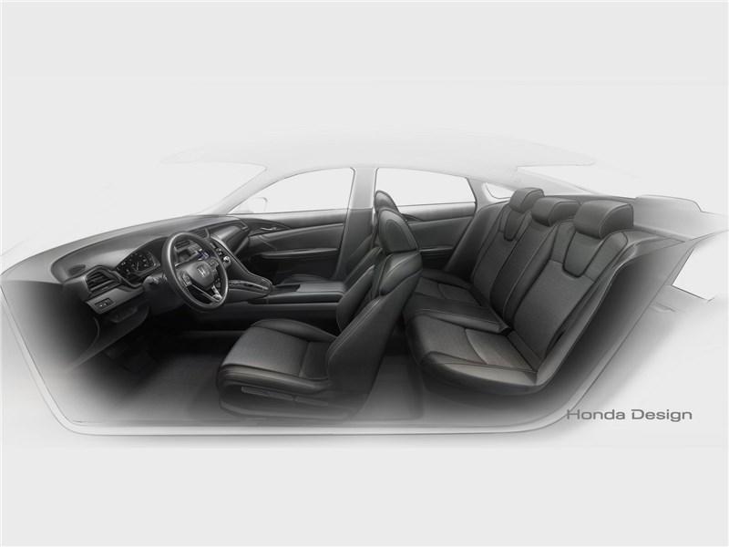 Honda Insight Concept 2018 салон