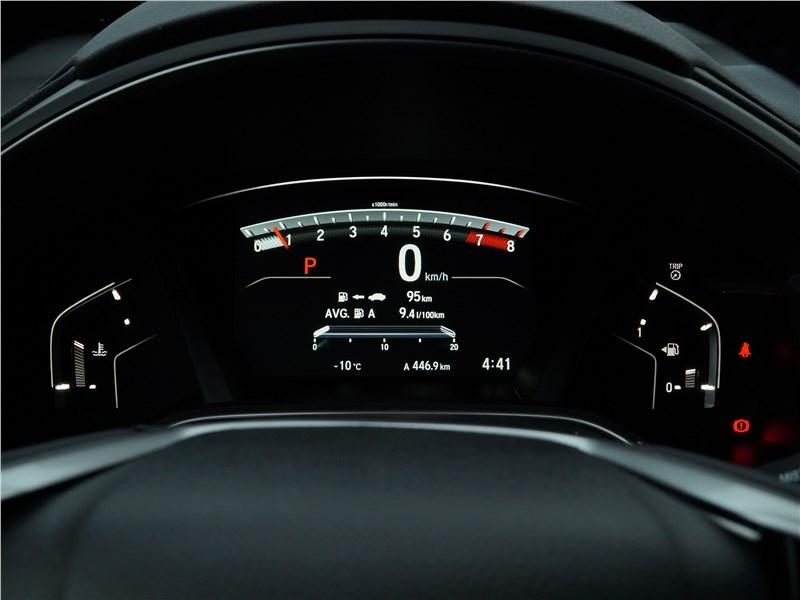 Honda CR-V 2017 приборная панель