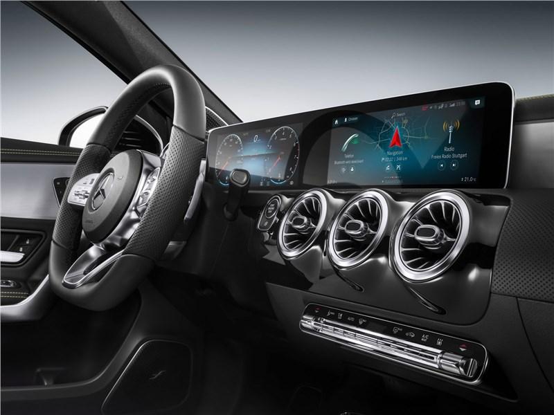 Mercedes-Benz A-Class 2019 передняя панель