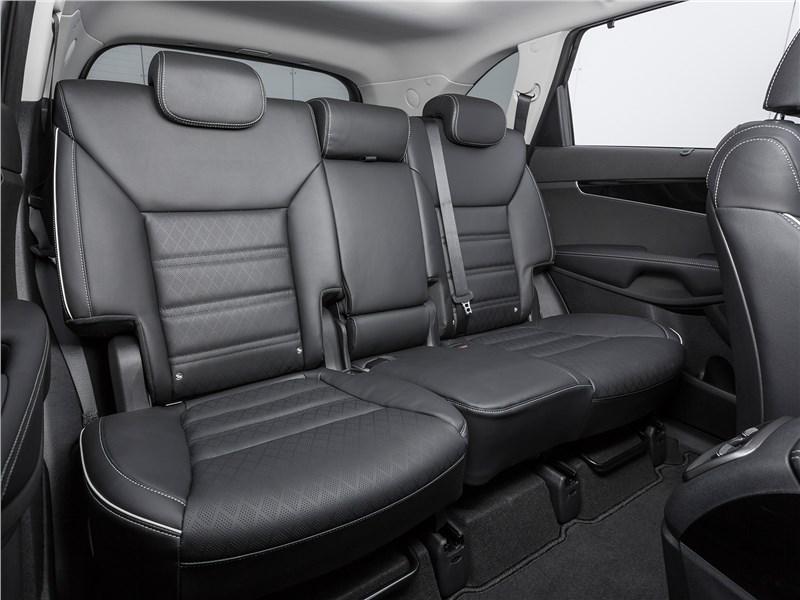 Kia Sorento Prime 2018 задний диван