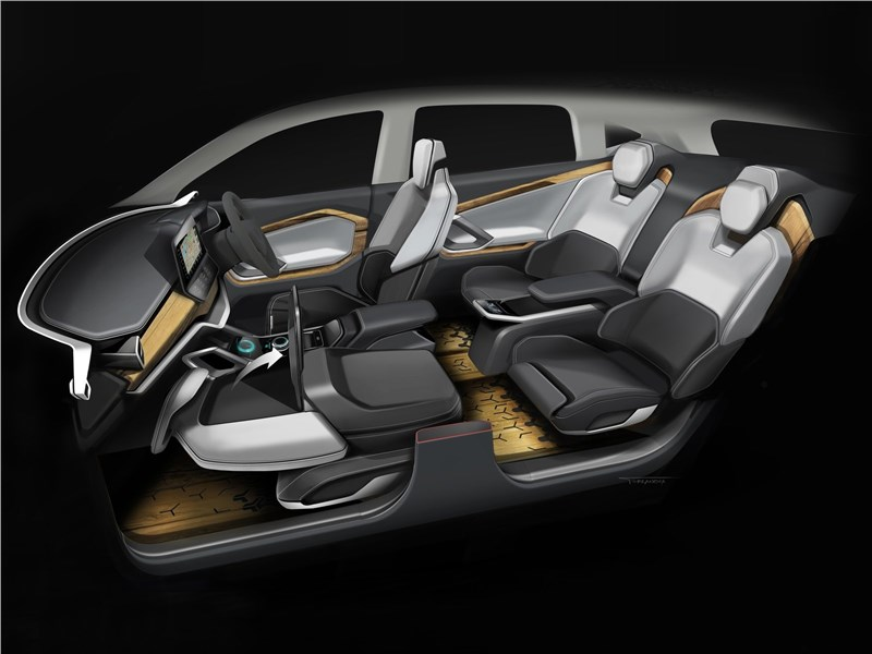 Tata H5X Concept 2018 салон