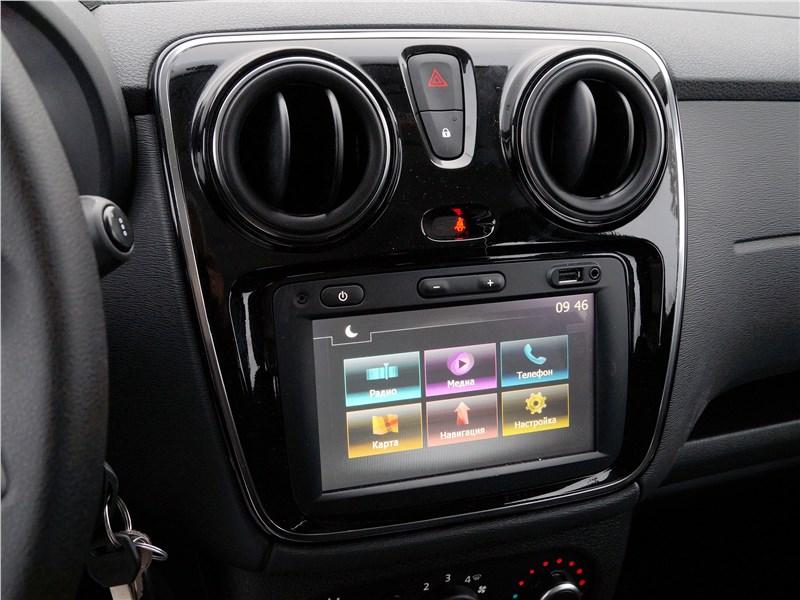 Renault Dokker 2018 центральная консоль
