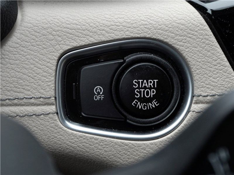 "BMW X2 2019 кнопка ""старт-стоп"""