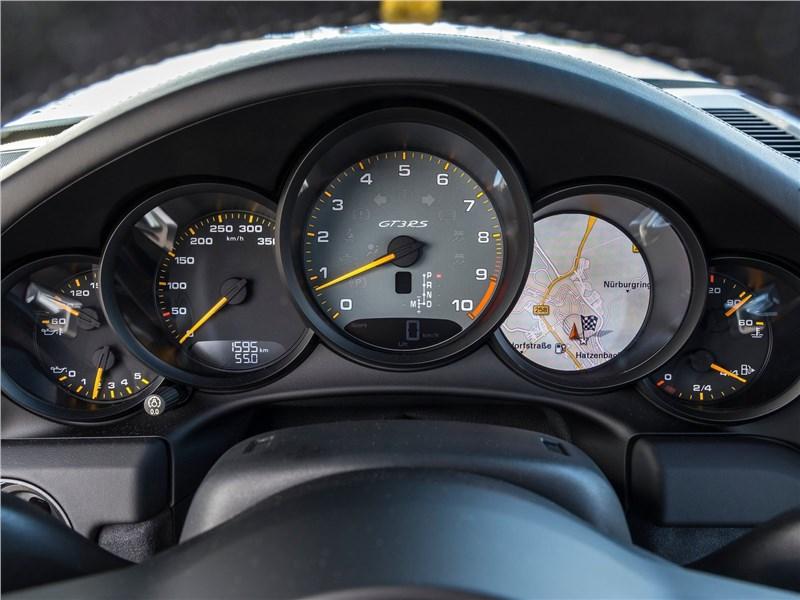Porsche 911 GT3 RS 2019 приборная панель