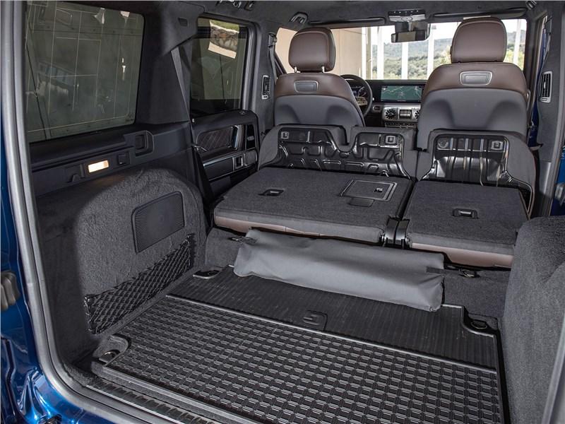 Mercedes-Benz G-Class 2019 багажное отделение