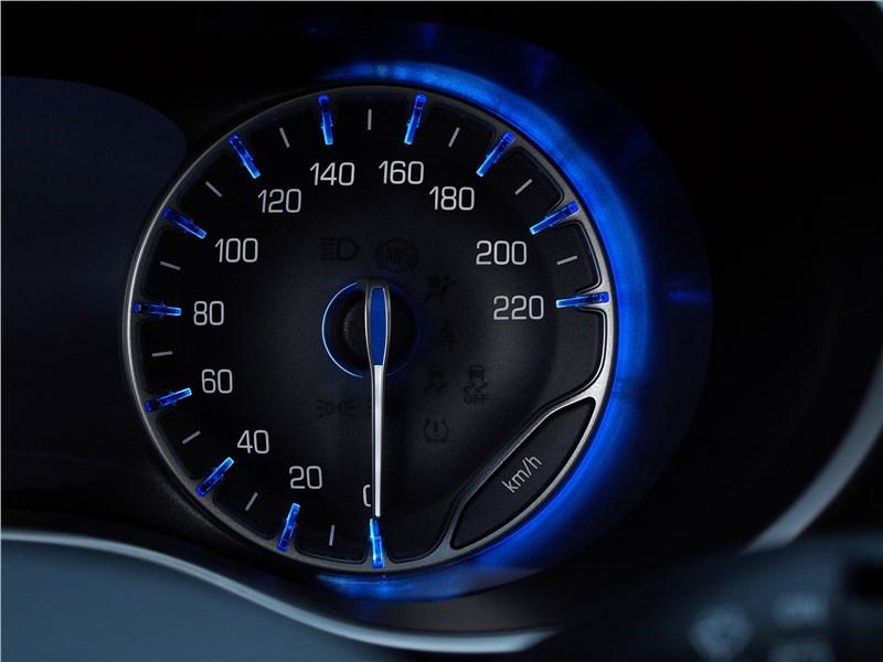Chrysler Pacifica 2017 приборная панель
