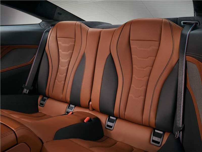 BMW 8-Series Coupe 2019 задние кресла