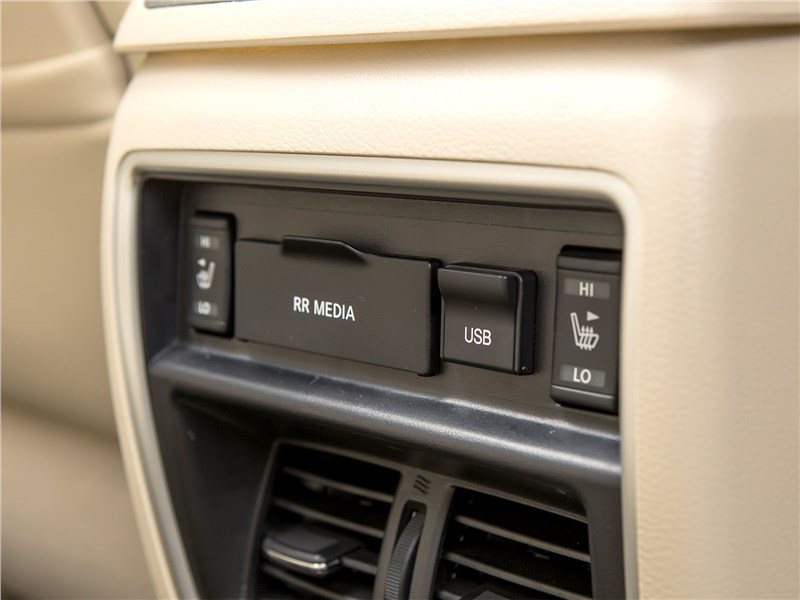 Nissan Murano 2015 климат для второго ряда