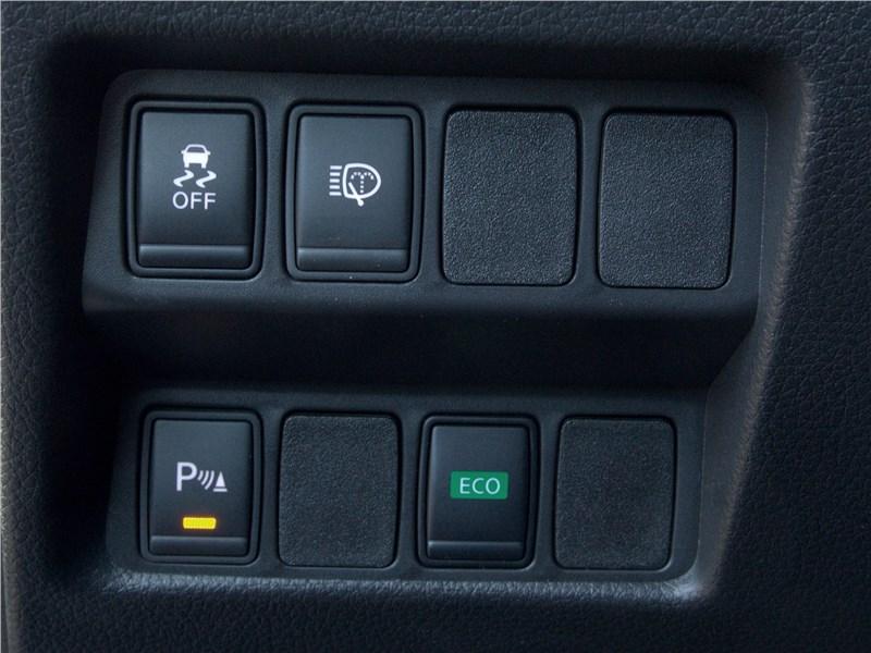 Nissan Qashqai 2014 клавиши