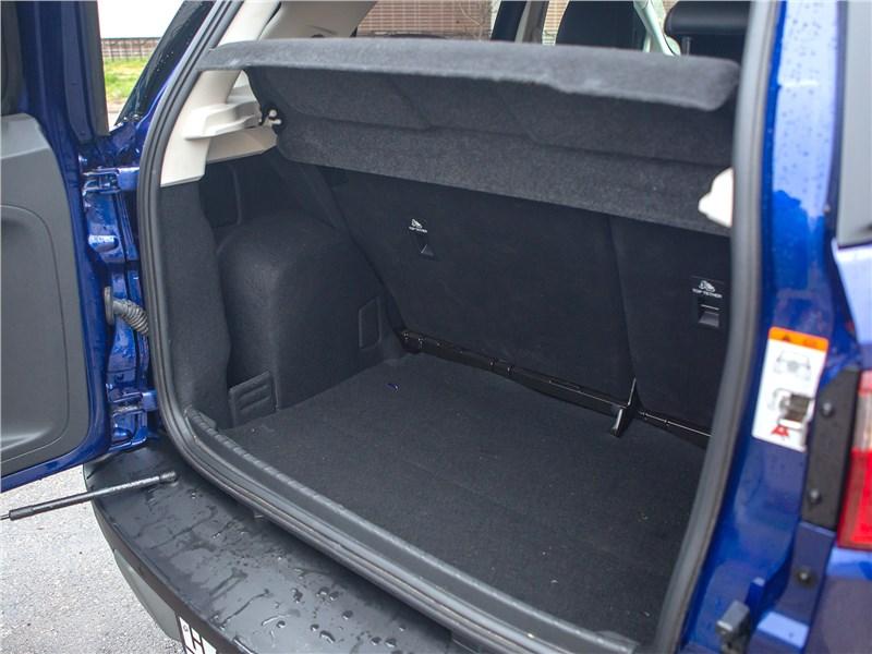 Ford EcoSport 2018 багажное отделение