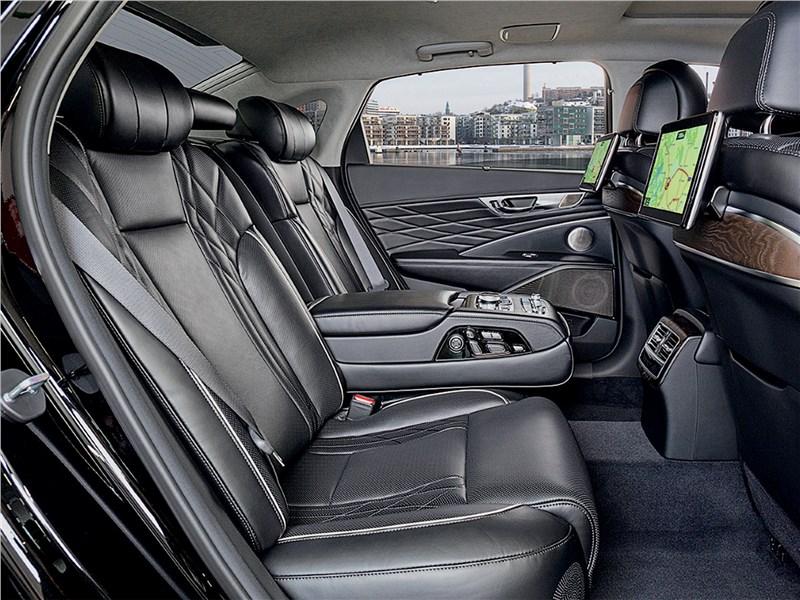 Kia K900 2019 задний диван
